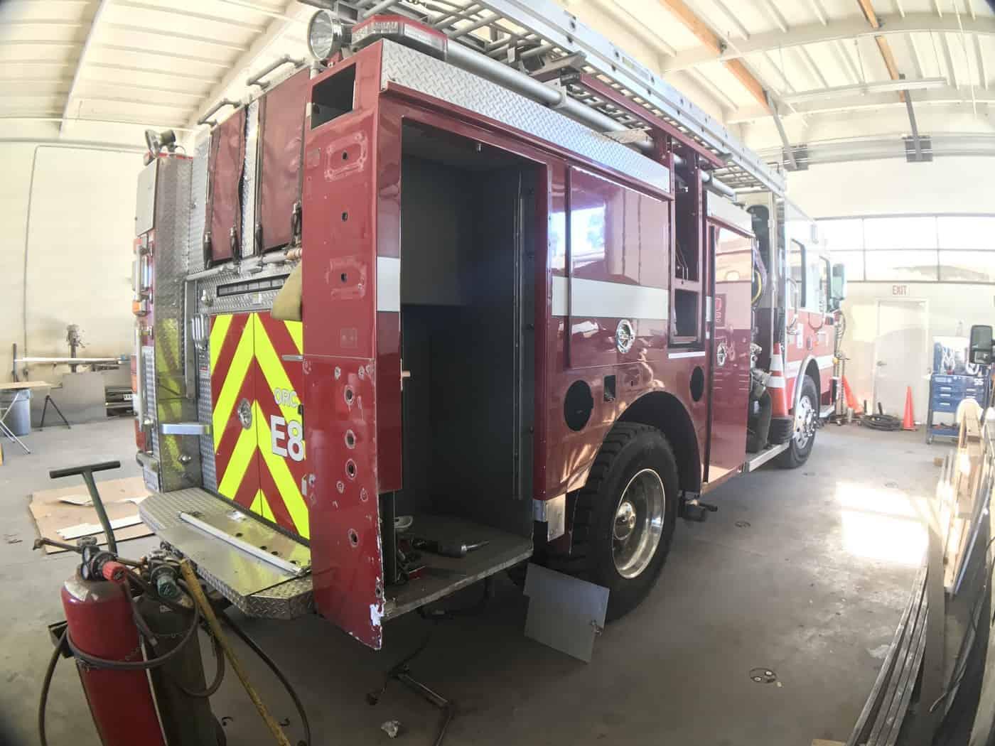 Fire Truck Repair Shop Near Me